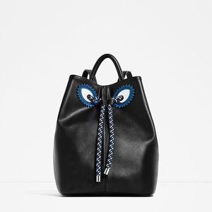 Zara Monster Backpack